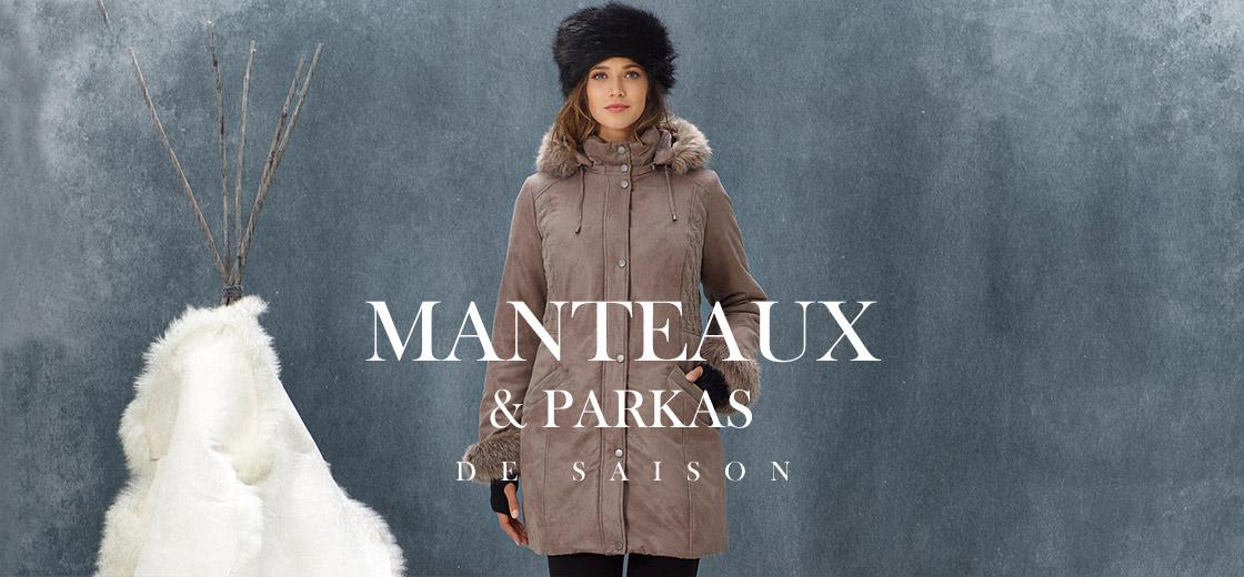 Manteaux et parkas de saison