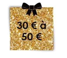 30 € à  50 €