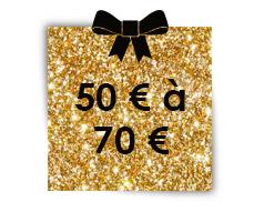 50 € à 70 €